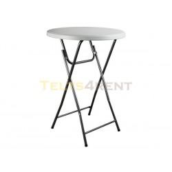 Salokāms plastmasas bāra galds