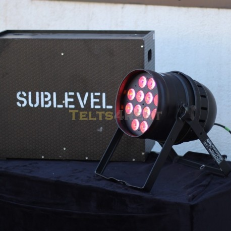 LED PAR 64 HLC 10w standfloor