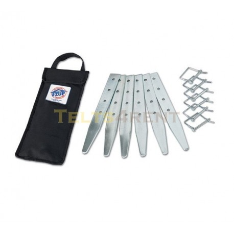 E-Z UP® Papildus naglu komplekts (6)