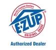 EZ Up autorzētais dīlera logo